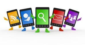 移动电话smartphone 免版税库存照片