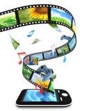 Smartphone stock de ilustración