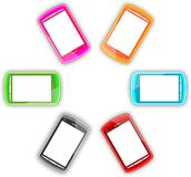 Smartphone. This is an illustration of a smartphone Royalty Free Stock Image