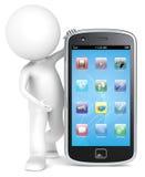 Smartphone. royaltyfri illustrationer