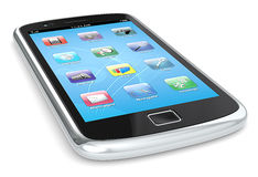 Smartphone, Royalty-vrije Stock Afbeeldingen