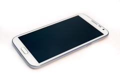 Smartphone. A white large screen smartphone