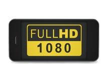 Smartphone 1080 Στοκ φωτογραφία με δικαίωμα ελεύθερης χρήσης