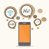 Smartphone Arkivbild