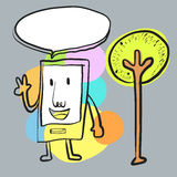 Smartphone ilustracja wektor