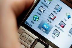 Smartphone antiguo de Nokia Fotos de archivo