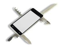 Smartphone app Imagenes de archivo