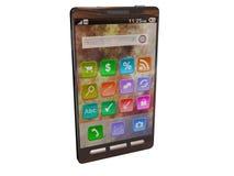 Smartphone avanzado foto de archivo libre de regalías