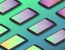 Smartphone backround design Stock Images