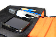 Smartphone in the bag Royalty Free Stock Image
