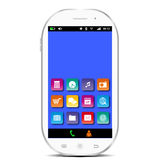 Smartphone bianco Immagine Stock Libera da Diritti