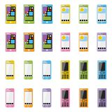 Smartphone in bianco Immagine Stock Libera da Diritti