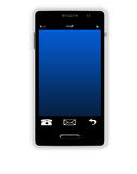 Smartphone With Big Screen Stock Images