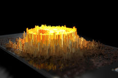 Smartphone Bitcoin Cloner Стоковые Изображения