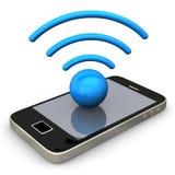 Smartphone Radio Stock Image