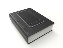 Smartphone book Stock Photos