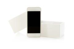 Smartphone with box Stock Photo