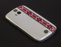 Smartphone branco Fotos de Stock Royalty Free