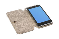 Smartphone in case Royalty Free Stock Photo