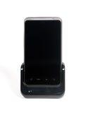 Smartphone com tela de toque e estação da doca Fotos de Stock
