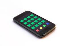 Smartphone con i apps Immagine Stock Libera da Diritti