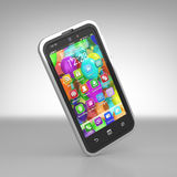 Smartphone concept Stock Images