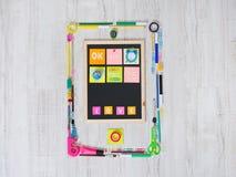 Smartphone creativo Immagine Stock
