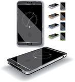 Smartphone 3D Immagini Stock Libere da Diritti