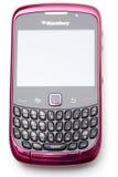 Smartphone da amora-preta Foto de Stock