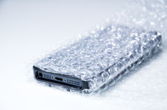 Smartphone data protection conceptual Royalty Free Stock Photo