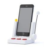 Smartphone de fente Images libres de droits