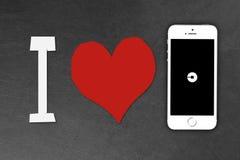 Smartphone de l'iPhone 5s d'Apple Image stock