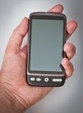 Smartphone de la pantalla táctil Foto de archivo