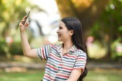 smartphone de selfie Image libre de droits