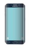 Smartphone del bordo di Samsung s6 Fotografia Stock