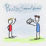 Smartphone della foto Fotografia Stock