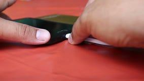 Smartphone della tassa con la banca di potere
