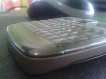 smartphone della tastiera fotografia stock