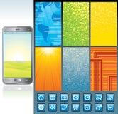 Smartphone Design Kit Royalty Free Stock Photos