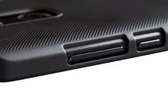 Smartphone-Details Stock Fotografie