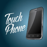 Smartphone Device Design Poster Stock Images