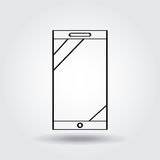 Smartphone device icon Royalty Free Stock Photo