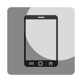 Smartphone device isolated icon Stock Photography