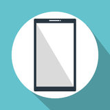 Smartphone device isolated icon Stock Photos
