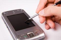 Smartphone di GPS immagini stock libere da diritti
