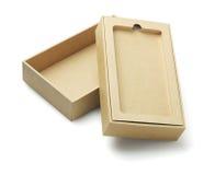Smartphone die Doos verpakken Stock Fotografie