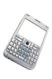 Smartphone die op wit wordt geïsoleerda Stock Afbeeldingen