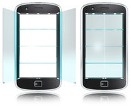 Smartphone Display. Stock Photography
