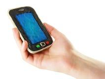 Smartphone dos desenhos animados do Plasticine Fotos de Stock