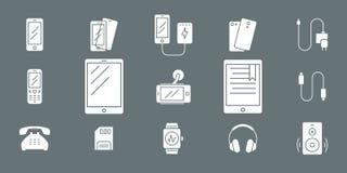 Smartphone e iconos 02 de los accesorios libre illustration
